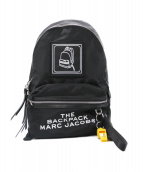 MARC JACOBS(マークジェイコブス)の古着「THE PICTOGRAM BACKPACK」|ブラック