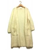 RHC Ron Herman(アールエイチシー ロンハーマン)の古着「モヘヤガウンカーディガン」|ホワイト