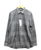 BURBERRY LONDON(バーバリーロンドン)の古着「長袖チェックシャツ」|グレー