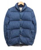 REMI RELIEF(レミレリーフ)の古着「デニムダウンジャケット」|インディゴ