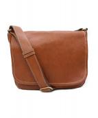 土屋鞄(ツチヤカバン)の古着「トーンオイルヌメショルダーバッグ」|ブラウン