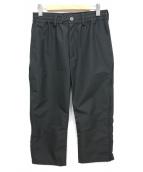 MUZE(ミューズ)の古着「ナイロンパンツ」|ブラック