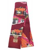 LOUIS VUITTON(ルイ ヴィトン)の古着「ツイリースカーフ」|パープル