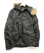 AVIREX(アビレックス)の古着「N-3Bタイプコート」|ブラック