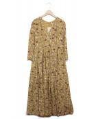 MARIHA(マリハ)の古着「マドモアゼルのドレス LS」 マスタード