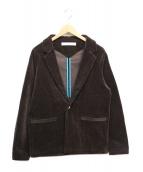 MUZE(ミューズ)の古着「コーデュロイジャケット」|ダークブラウン