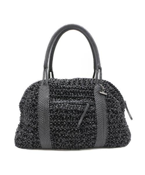 ANTEPRIMA(アンテプリマ)ANTEPRIMA (アンテプリマ) ワイヤーバッグ ブラック サイズ:なしの古着・服飾アイテム