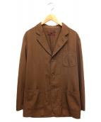 COMME des GARCONS SHIRT(コムデギャルソンシャツ)の古着「3Bジャケット」|ブラウン