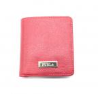 FURLA()の古着「2つ折り財布」 レッド