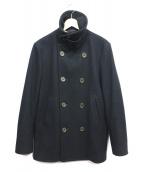 N.HOOLYWOOD(エヌハリウッド)の古着「メルトンPコート」|ネイビー