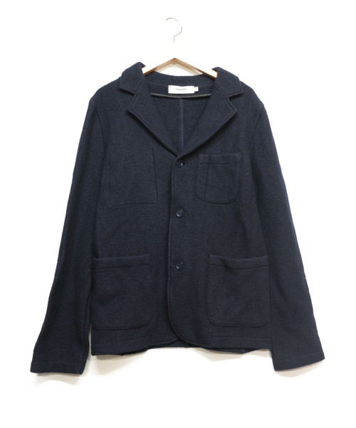french trotters(フレンチトロッターズ)french trotters (フレンチトロッターズ) 3Bウールジャケット ネイビー サイズ:Mの古着・服飾アイテム