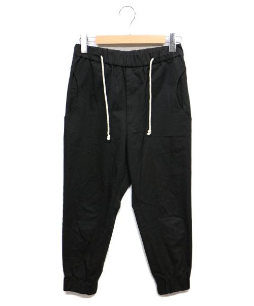 Dulcamara(ドゥルカマラ)Dulcamara (ドゥルカマラ) ジョガーパンツ ブラック サイズ:0の古着・服飾アイテム