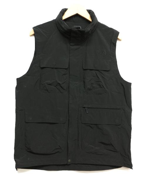 THE NORTH FACE(ザノースフェイス)THE NORTH FACE (ザノースフェイス) GROVE TREKKER VEST ブラック サイズ:Lの古着・服飾アイテム