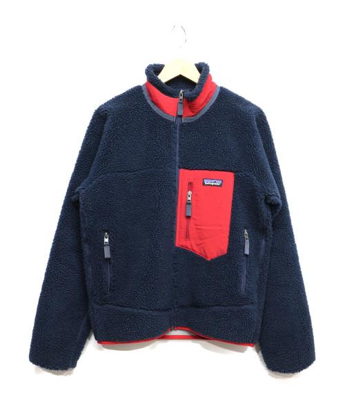 Patagonia(パタゴニア)Patagonia (パタゴニア) Classic Retro-x Jacket ネイビー サイズ:XSの古着・服飾アイテム