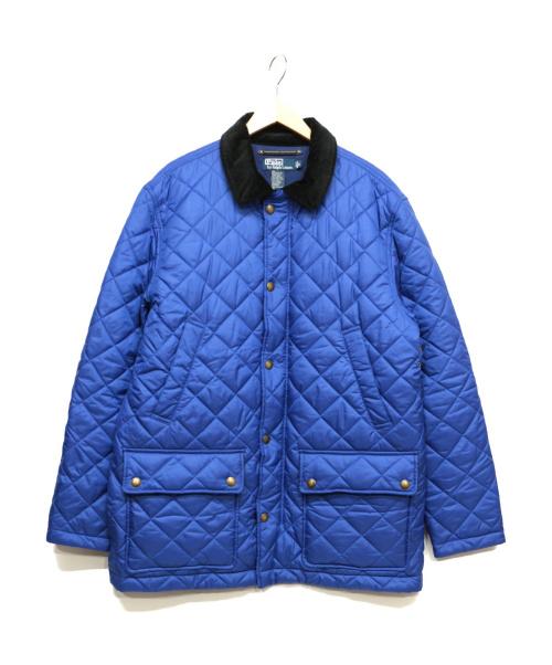 POLO RALPH LAUREN(ポロラルフローレン)POLO RALPH LAUREN (ポロラルフローレン) キルティングジャケット ブルー サイズ:Lの古着・服飾アイテム