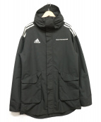 Gosha Rubchinskiy×adidas(ゴーシャ・ラブチンスキー×アディダス)の古着「Signature Hardshell Jacket」|ブラック
