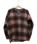Needles sportswear(ニードルズスポーツウェア)の古着「Vネックウールプルオーバー」