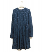 STELLA McCARTNEY(ステラ・マッカートニ)の古着「SHAYLEE DRESS」|ネイビー
