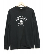 NOAH(ノア)の古着「長袖Tシャツ」|ブラック