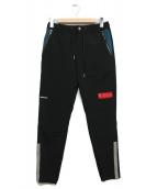 1PIU1UGUALE3 RELAX(ウノピョウ ノウグァーレトレ リラックス)の古着「ムービングストレッチパンツ」|ブラック