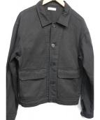 LIDnM(リドム)の古着「カバーオール」 ブラック