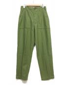 Shinzone(シンゾーン)の古着「ベイカーパンツ」 グリーン