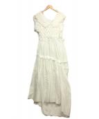 JUNYA WATANABE CDG(ジュンヤワタナベコムデギャルソン)の古着「ノースリーブワンピース」|ホワイト