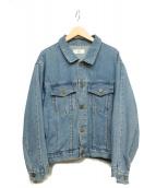 MAISON DE REEFUR(メゾンドリーファー)の古着「デニムジャケット」|ブルー