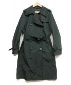 MaxMara(マックスマーラ)の古着「レイントレンチコート」|ネイビー