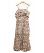 MARIHA(マリハ)の古着「波の音のドレス」 ローズブラウン