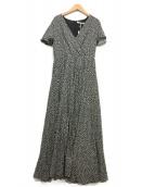 MARIHA(マリハ)の古着「マドモアゼルのドレス」 ブラック×ホワイト