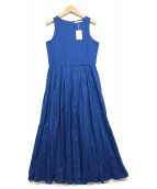 MARIHA(マリハ)の古着「夏のレディのドレスNS」 ブルー