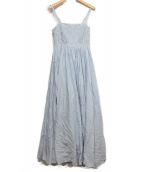 MARIHA(マリハ)の古着「春の風のドレス」 ブルーカルセドニー