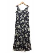 MARIHA(マリハ)の古着「海の月影のドレス」 ネイビー