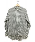 COMOLI(コモリ)の古着「シャツ」 ネイビー