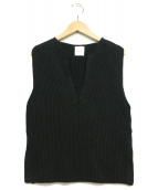 AMERI(アメリヴィンテージ)の古着「サマーニット」|ブラック