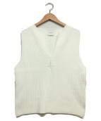 AMERI(アメリヴィンテージ)の古着「サマーニット」|ホワイト