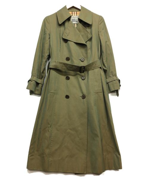 Burberrys(バーバリーズ)Burberrys (バーバリーズ) トレンチコート グリーン サイズ:Sの古着・服飾アイテム