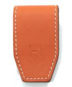 HERMES(エルメス)の古着「マネークリップ」|オレンジ