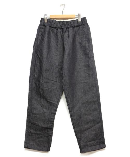 soi-e()soi-e (ソワ) ワイドデニムパンツ インディゴ サイズ:Sの古着・服飾アイテム