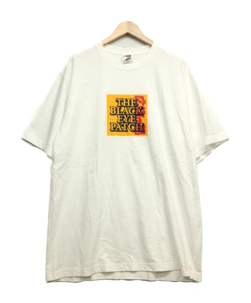 THE BLACK EYE PATCH(ザブラックアイパッチ)THE BLACK EYE PATCH (ザブラックアイパッチ) S/S Tシャツ ホワイト サイズ:Lの古着・服飾アイテム