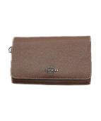 COACH(コーチ)の古着「財布」|ブラウン