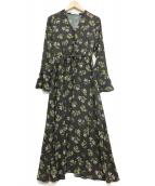 ETRE TOKYO(エトレトウキョウ)の古着「ブラウスワンピース」|グレー