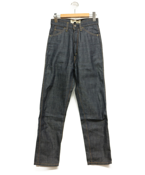 THE SHINZONE(ザ シンゾーン)THE SHINZONE (ザ シンゾーン) ハイウエストスリムパンツ インディゴ サイズ:36の古着・服飾アイテム