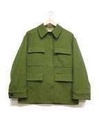 OKIRAKU(オキラク)の古着「ワークジャケット」|グリーン