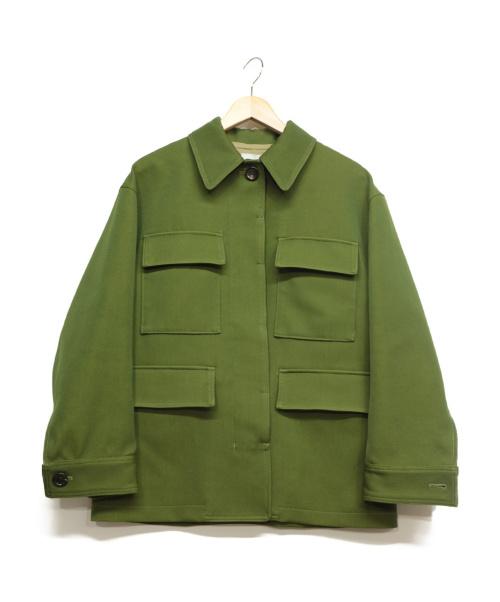 OKIRAKU(オキラク)OKIRAKU (オキラク) ワークジャケット グリーン サイズ:0の古着・服飾アイテム