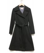 UNTITLED(アンタイトル)の古着「カシミヤダブルコート」|ブラック