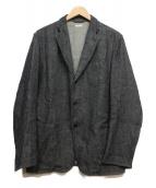 COMOLI(コモリ)の古着「ウールリネンジャケット」|ネイビー