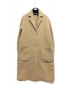ETRO(エトロ)の古着「ウールチェスターコート」|ベージュ