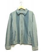 KUON(クオン)の古着「遠州藍織りブルゾン」|インディゴ